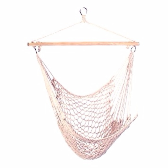 Hanging Cotton Rope Hammock Swing Chair Seat
